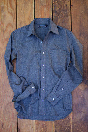 Stone Twill Button Down