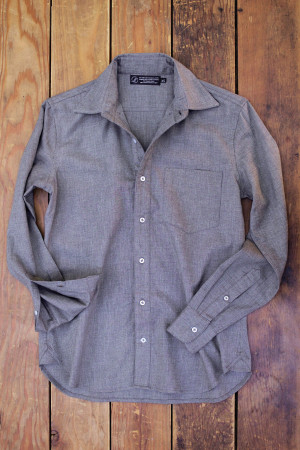 Driftwood Twill Button Down
